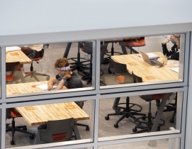 One of the innovation labs at Bowling Green's Maurer Center