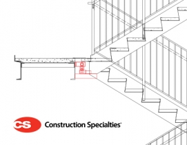 Construction Specialties DriftReady Stairs