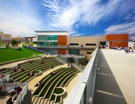 The new University Student Union at California State University San Marcos featu