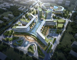 Cancer Hospital of the University of Chinese Academy of Sciences Shaoxing Campus aerial