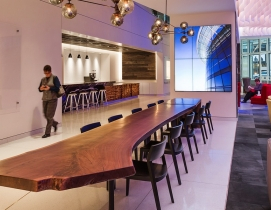 Is the office lobby the workplace of the future?