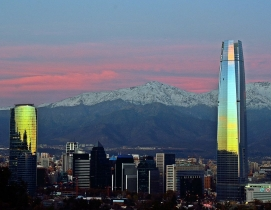 Torre Costanera in Santiago, Chile, is South America's first supertall. Photo: J