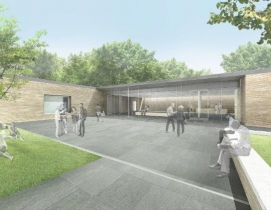 Exterior of planned Visitor and Education Center