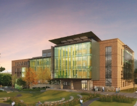 Georgia Techs Engineered Biosystems Building will provide 200,000 sf of researc