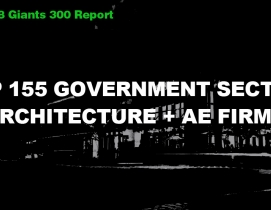 Top 155 Government Sector Architecture + AE Firms [2018 Giants 300 Report]