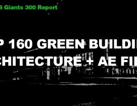 Top 160 Green Building Architecture + AE Firms [2018 Giants 300 Report]
