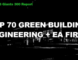 Top 70 Green Building Engineering + EA Firms [2018 Giants 300 Report]