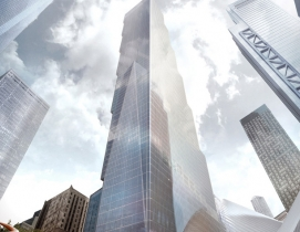 BIG unveils designs for last WTC tower