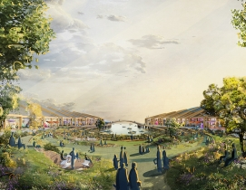 Heatherwick Studio's The Cove park