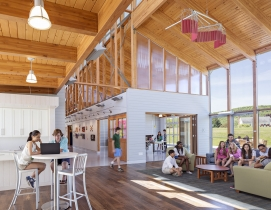 16 stunning wood buildings win 2015 Wood Design Awards