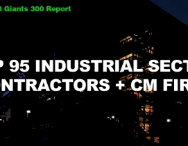 Top 95 Industrial Sector Contractors + CM Firms [2018 Giants 300 Report]