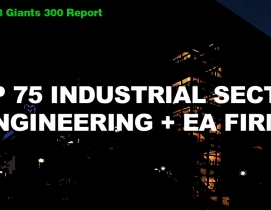 Top 75 Industrial Sector Engineering + EA Firms [2018 Giants 300 Report]