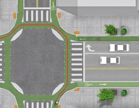 Austin, Salt Lake City, Davis, Calif., and Boston creating first protected intersections in U.S.
