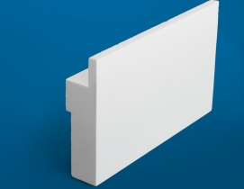 Restoration Millwork trim is made with a long-lasting, low-maintenance material