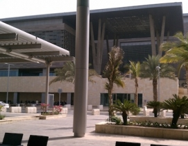 The King Abdullah University of Science and Technology Campus in Saudi Arabia is