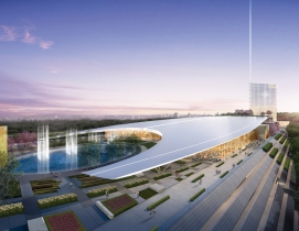 The 300-acre National Harbor mixed-use district is situated on the Potomac River