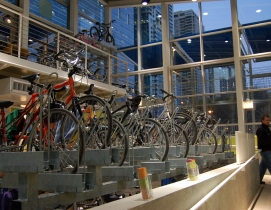 Bicycle storage facility