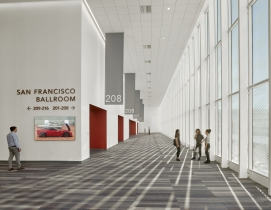 Moscone Center Expansion 2 Cesar Rubio, courtesy Webcor Top Convention Center Engineering Firms