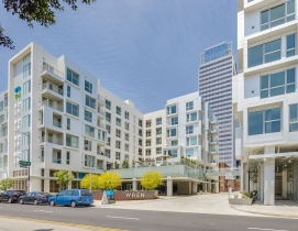 Multifamily, mid-rise buildings using wood construction