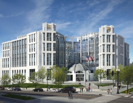 Rendering of Nashville U.S. Courthouse