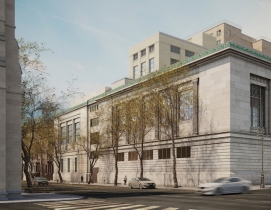 New-York Historical Society Museum and Library exterior