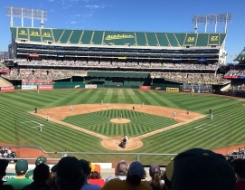 The Oakland Coliseum