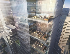 Rendering of Park Tower high-rise