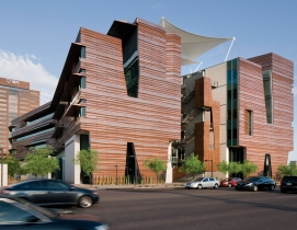 Inspired by Arizonas iconic canyon formations, the Health Sciences Education Bu