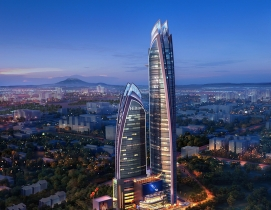 Pinnacle Towers complex rendering