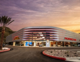 Exterior of Porsche Palm Springs