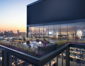 CetraRuddy designs office tower for Manhattan's Meatpacking district