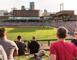 'Greenest ballpark' proves a winner for St. Paul Saints
