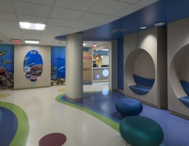 Nautical theme at Salah Foundation Children's Hospital