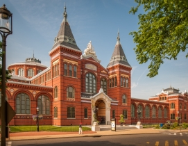 Smithsonian Institution's Arts and Industries Building again an exposition and museum space