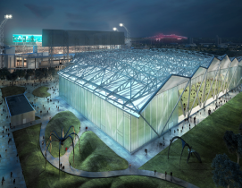 Jacksonville Jaguars' new practice facility, designed by Populous