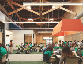 K-12 SCHOOL SECTOR GIANTS: To succeed, school design must replicate real-world environments