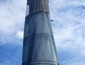 Shanghai Tower. Photo: Yhz1221 via Wikimedia Commons
