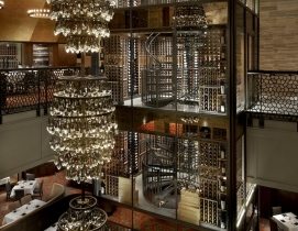 Del Frisco's Double Eagle Steak House, Chicago; Courtesy Shawmut Design and Cons