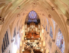 A fully restored St. Patrick's Cathedral awaits the Pope's arrival