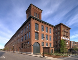 The Architectural Team redesigned old textile factory for multifamily use