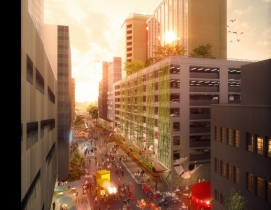 Sydney's new Goods Line will be built in two stages, the first of which is set t