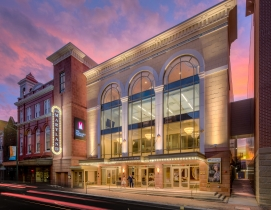 The Maryland Theatre addition exterior in Hagerstown