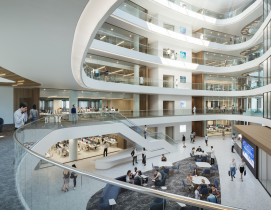 Top 100 Architecture Engineering Firms for 2020 Emory University Health Research Science Building 2 by HOK
