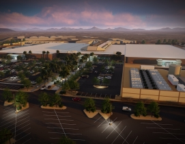 Top 45 Data Center Construction Firms for 2019 HKS - Aligned Energy - Aerial Perspective Rendering
