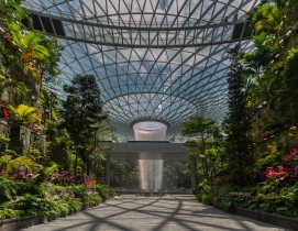 How engineering giant Buro Happold democratizes tech innovation, Jewel Changi Airport project