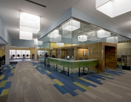 Solatube Daylighting Systems and fabric lanterns add brightness and flair