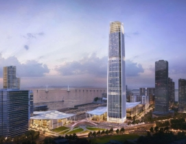 Zhuhai neighborhood mixed-use tower