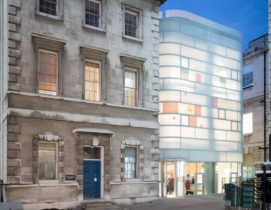 Maggie's Centre Barts, London, designed by Steven Holl Architects. Photo: Iwan Baan