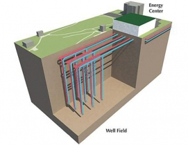 The countrys largest geothermal system is at Ball State University.