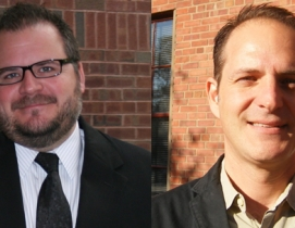 Todd Benner (left) and Rob Byers (right)